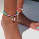 Fußketten surfclub turquoise_