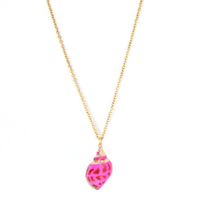 Kette Palaeo shell pink