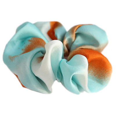 Scrunchie turquoise melee