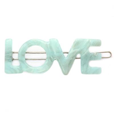 Haarspange Love azure