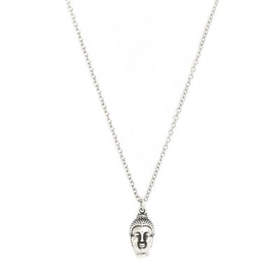 Kette Buddha silver