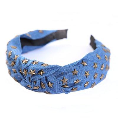 Haarband Denim star