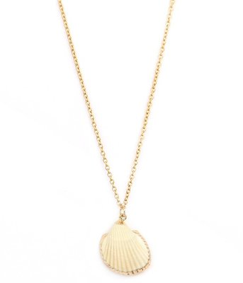 Kette Shell gold edges