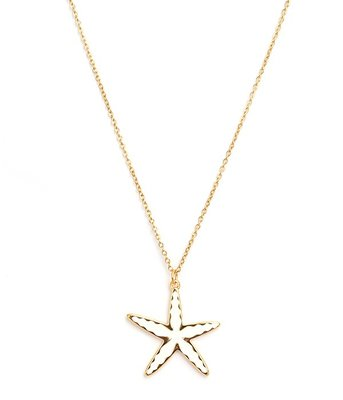 Kette Starfish gold