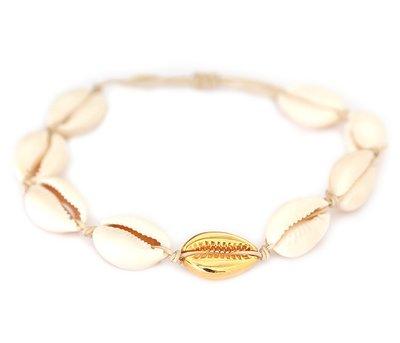 Fußketten Gold shell