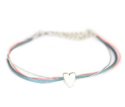 Fußketten Silver heart