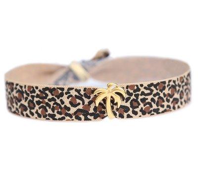 Fußketten Palm leopard