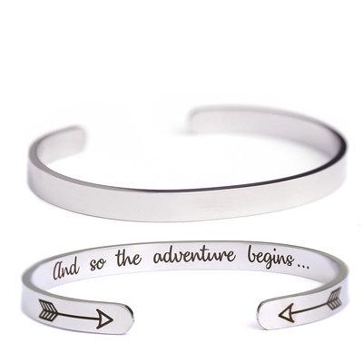 Armband Adventure silber