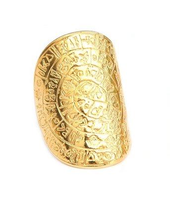 Ring - Hieroglyphe gold