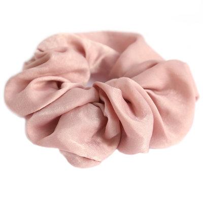 Scrunchie seide rose