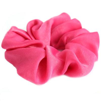 Scrunchie seide pink