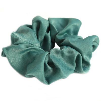 Scrunchie seide green