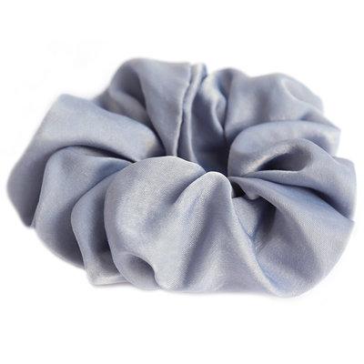 Scrunchie seide light blue
