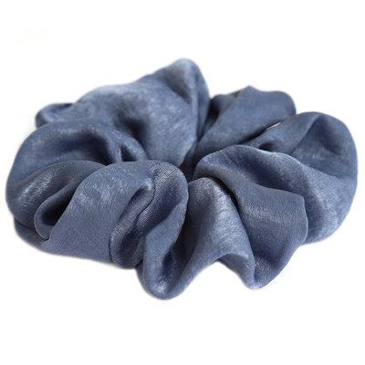 Scrunchie seide blue
