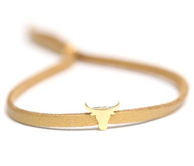 Buffalo armband gold