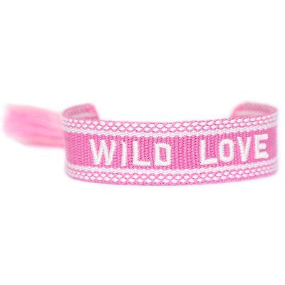 Gewebtes Armband Wild love