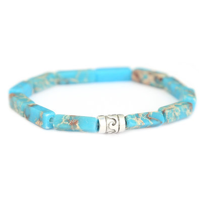 Beachlife armband Sky
