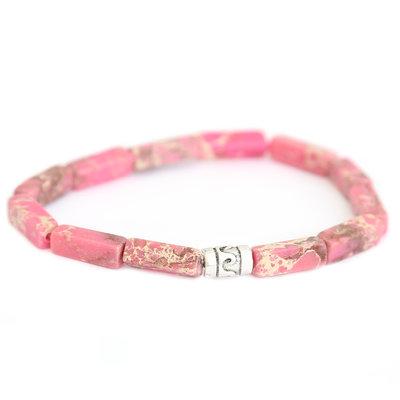 Beachlife armband Rosa