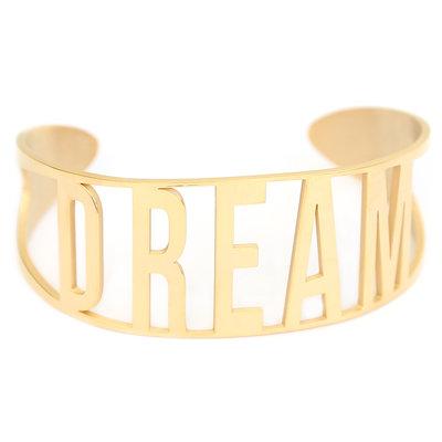 Dream armband gold