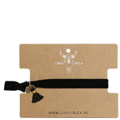 Velvet armband - Black