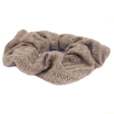 Scrunchie soft brown