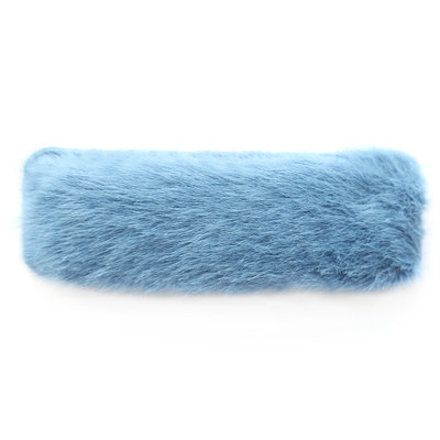 Haarspange fluffy blue