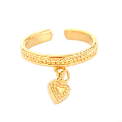 Ring - Heart gold