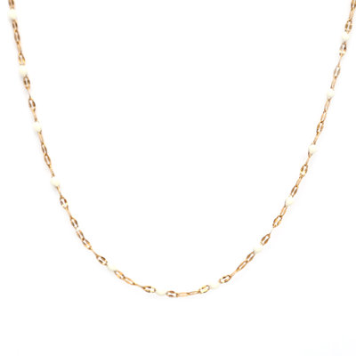Kette little chain white