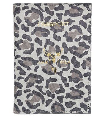 Passport cover Leopard