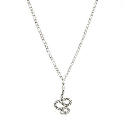Kette snake silver