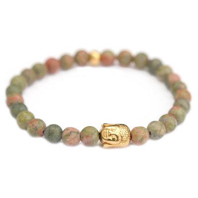 Armband buddha jade