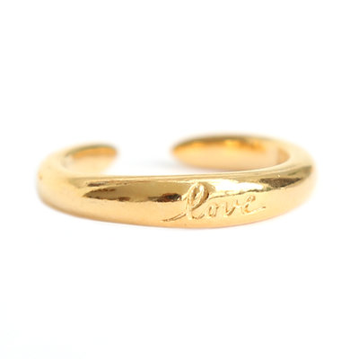Ring love gold