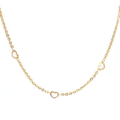 Kette little heart gold
