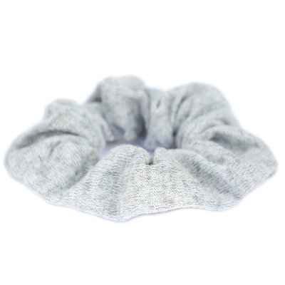 Scrunchie knitted grey