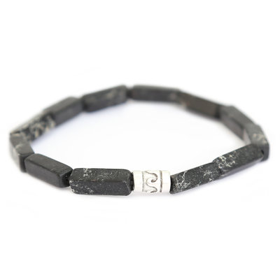 Beachlife armband schwarz