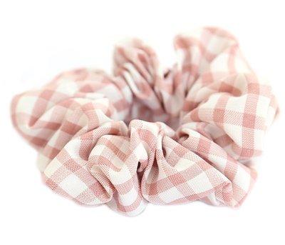 Scrunchie diamant pink