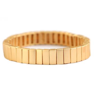 Armband matte gold