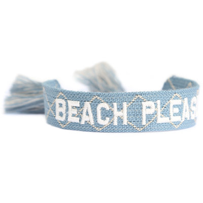 Gewebtes Armband Beach please