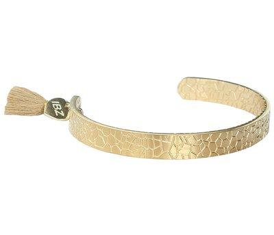 Snake armband gold
