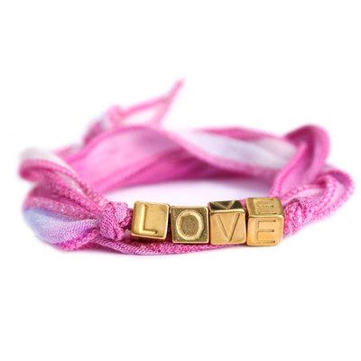 Love wrap pink