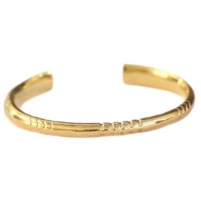 Soul sister armband gold