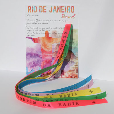 Bonfim de Bahia wish Armbänder set No. 1