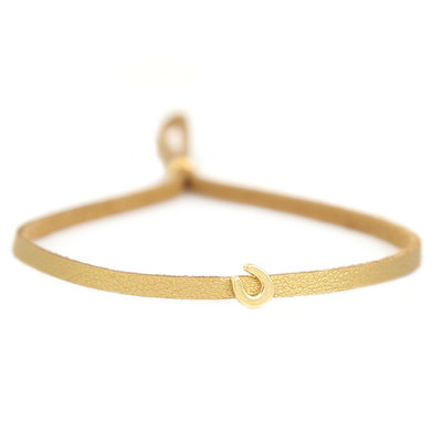 Armband for good luck - gold
