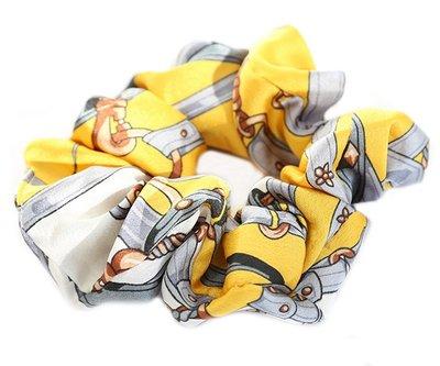 Scrunchie Baroque yellow