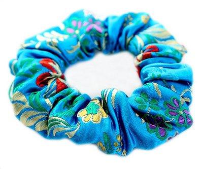 Scrunchie Gypsy blue