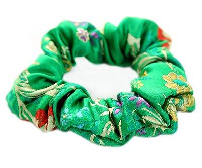 Scrunchie Gypsy green