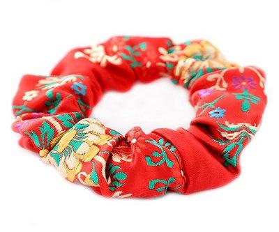Scrunchie Gypsy red