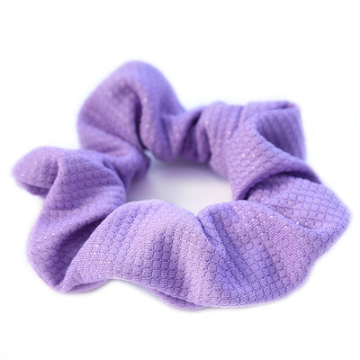 Scrunchie jersey purple