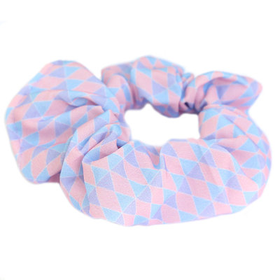Scrunchie lila peach
