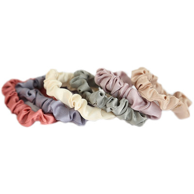Silky scrunchie set